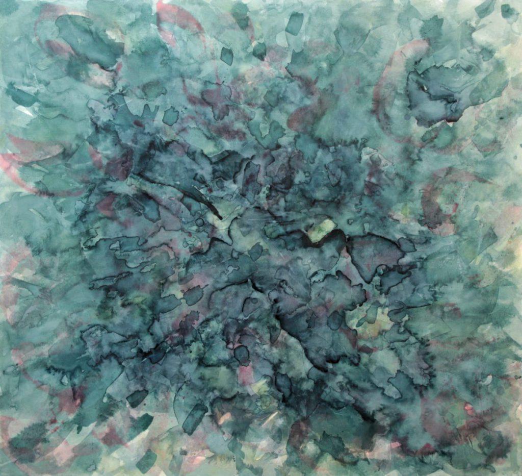 Liguster abstrakt 100x90cm